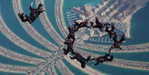 Schweizer Nationalmanschaft über Dubai